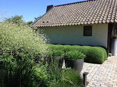 Tuin, ontwerp en aanleg door Puur groenprojecten.  Onderhoud en snoei door Artgreen.