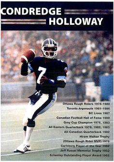 Condredge Holloway Tn Vols Football, Football Awards, Football Hall Of Fame, Sport Football, Football Stuff, Canadian Football League, Grey Cup, Michael Vick
