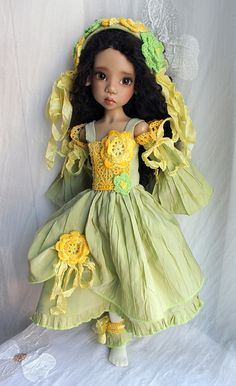 Spring  - Beautiful doll by Kaye Wiggs