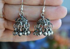 25% SALE  Ethnic Earrings Jhumka Earrings Indian by LKArtChic