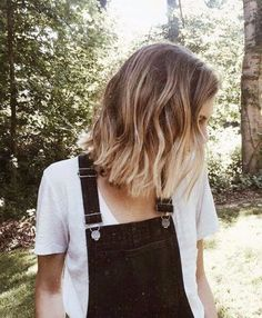 71 most popular ideas for blonde ombre hair color - Hairstyles Trends Lob Hairstyle, Cool Hairstyles, Short Ombre Hairstyles, Blonde Hairstyles, Hair Day, New Hair, Ombre Hair Color, Blonde Ombre Short Hair, Short Hombre Hair