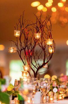Photographer: Procopio Photography; Wedding reception centerpiece idea;