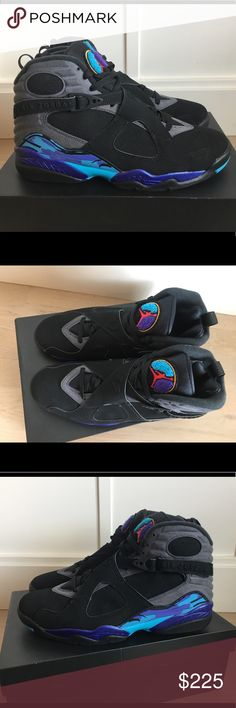 4acb763945634d NEW Air Jordan 8 Aqua Retro Sz 11 Air Jordan 8 Aqua Retro deadstock