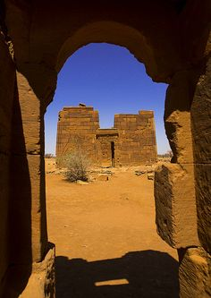 Lion Temple Of Apedemak, Musawarat, Naga Site, Sudan | por Eric Lafforgue