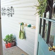 This is the back entry of our house, but it faces the river walk, so I… :: Hometalk
