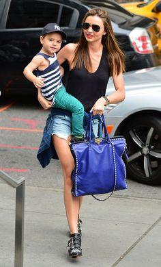 Miranda Kerr looking all adorable with baby Flynn
