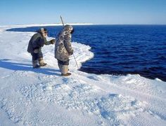 Inuits and melting Arctic ice.  #climate change