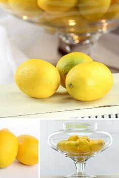 These beautifully constructed lemons have vibrant, cheerful yellow exteriors that will give your surroundings a zesty spirit!