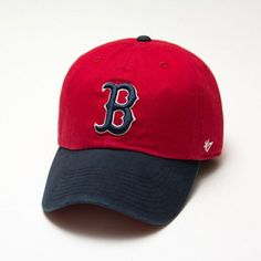 5678c78bd8211 Boston Red Sox  47 Brand Clean Up Hat - 2 Tone Ball Caps