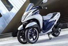 Yamaha are at the Motor Show in EICMA in Milan, presented the latest Leaning Multi Wheel (LMW) scooter with three wheels. The name of this model is Yamaha Tricty. This...