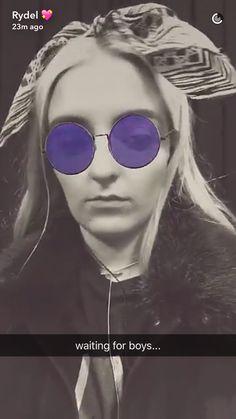 Rydel's snapchat