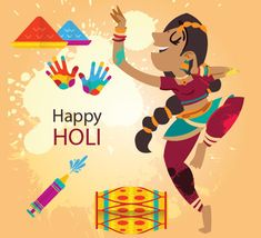 Celebrate the festival of color, joy and loads of good food. Wish your near and dear ones with this cute card from Wishes For Friends, Friends In Love, Happy Holi Gif, 123 Greetings, Holi Festival Of Colours, Holi Wishes, Holi Celebration, Indian Festivals, Color Of Life