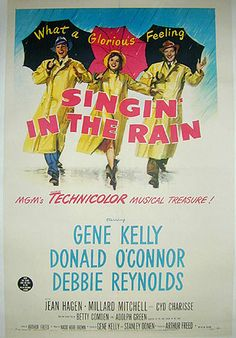 Singin' in the Rain Movie Posters Original and Vintage