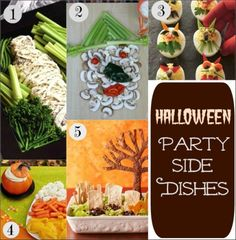 Halloween Party Side Dishes :: PocketChangeGourmet.com