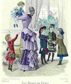 Les Modes de Paris 1882
