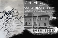 Villa Comunale di Frosinone - Italy: Personale di Sumi-e di Sandro Segneri