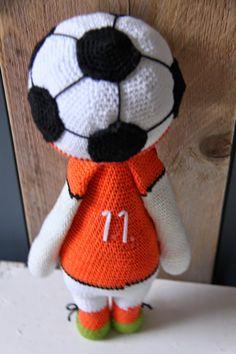 Ak at home : crochet * Arjen Robben