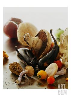 Gourmet Regular Photographic Print by Romulo Yanes at Art.com
