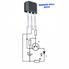 Este circuito eletrônico é de uma Chave Magnética Eletrônica bastante simples. Ela usa um sensor de efeito hall, outras adaptações podem ser feitas de acordo com o usuário.