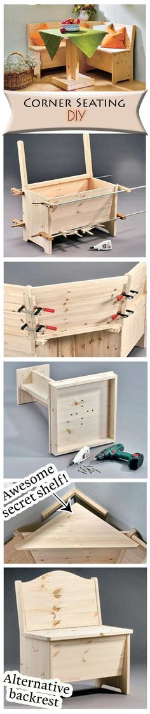 Sitzbank selber bauen haben sie spa mit dem praktischen diy projekt ideen pinterest for Terassentisch selber bauen