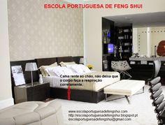 Escola Portuguesa de Feng Shui: QUARTO - CAMA RENTE-AO-CHÃO Feng Shui, Cool Stuff, Bed, Furniture, Home Decor, Decor Room, Bedroom Decor, Bedrooms, School
