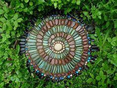 Искусство мозаики на службе садоводства
