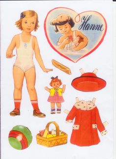 6 Good Little Dolls* 1500 free paper dolls for small Christmas gits and DIY for Pinterest pals The International Paper Doll Society Arielle Gabriel artist ArtrA Linked In QuanYin5 *