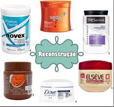 Ex de produtos para reconstrução.