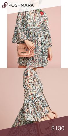 bcf72df06444 Spotted while shopping on Poshmark: Anthropologie libra tunic dress 120$!!  SALE!!! #poshmark #fashion #shopping #style #Anthropologie #Dresses & Skirts