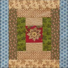 Civil War Quilts: Westering Women 7: Courthouse Rock