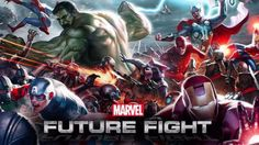MARVEL Future Fight - The Avengers.the Guardians of the Galaxy! You can unite the greatest heroes from all corners of the Marvel Universe for the epic battle that will decide the fate of all realities - MARVEL Future Fight! March Of Empire, Marvel Future Fight, Marvel Fight, Marvel Avengers, Contest Of Champions, Website Features, Marvel Cosplay, Marvel Entertainment, Hack Online