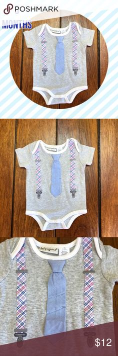 80e34f320 NWOT Baby boys Easter Dress up Tie Onesie New without tags baby boys onesie.  Onesie
