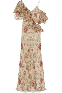 alexander mcqueen robe romantique