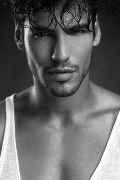 Model - Rodrigo Castelhano, Photo by Paulo Simºoes, Make up and Hair by Magda Casqueiro