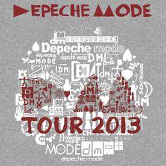 Depeche Mode : Tour Logo 2013 - With old logo 2