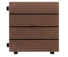 I found a Brown Faux Wood Interlocking Deck & Patio Tiles, 10-Pack at Big Lots for less. Find more at biglots.com!