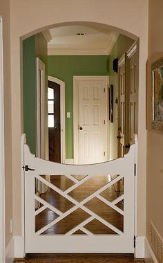 ServiceLane - Custom dog gate Or baby gate! Custom Dog Gates, Custom Dog Beds, Diy Dog Gate, Pet Gate, Doggie Gates, Baby Gates, Child Gates, Dog Rooms, Design Case