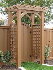 Trex Arbor for Fence Gates