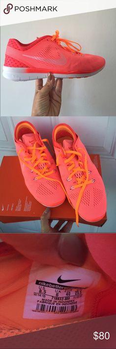 NIKE Free 5.0 tr fit lv glw Sz 8.5 new NIKE Free 5.0 tr fit lv glw Sz 8.5 new item#4sw Nike Shoes