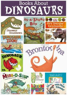 Children's Books About Dinosaurs.  Choices for babies, toddlers, preschoolers, and elementary-aged children.  Reviews of each!