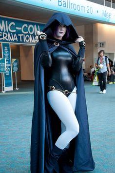 Teen Titans: Raven #cosplay #teentitans #raven [One of the best ones I've seen]
