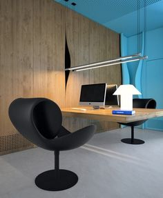Sergey Makhno and Butenko Vasiliy designed office