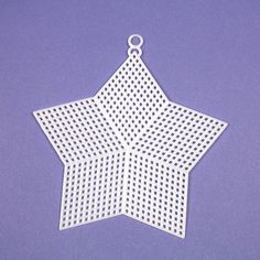plastic canvas shapes  5 hexagon 5 star or 6 circle by LadybugLB