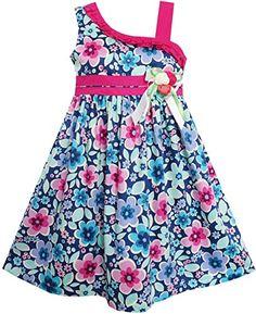 FP13 Sunny Fashion Girls Dress Multicolored Flower Bow Tie Asymmetric Design Size 6 Sunny Fashion http://www.amazon.com/dp/B00U1U3NTE/ref=cm_sw_r_pi_dp_6thnvb16ZKKTY