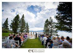 Summer Wedding Edgewood South Lake Tahoe CA