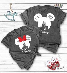 Custom Disney Shirts, Minnie Mickey Mouse Tops, Matching Family Disneyland Vacation Trip T-shirts - Lovely Novelty Disneyland Family Shirts, Family Vacation Shirts, Disney Vacation Shirts, Disneyland Vacation, Disney Trips, The Aristocats, The Jungle Book, Walt Disney, Disney Ears