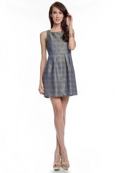 Jacquard Anya Dress