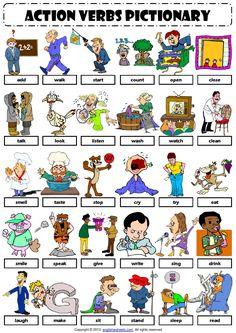 ISSUU - English Vocabulary - action verbs - por Educación Primaria