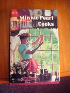 Vintage Minnie Pearl Cooks Southern Recipes Cookbook Hee Haw Star