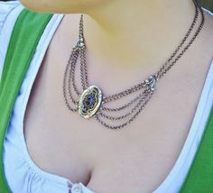 Schmuck Online Shop, Washer Necklace, Jewelry Ideas, Shopping, Fashion, Brooches, Ear Piercings, Gemstones, String Of Pearls